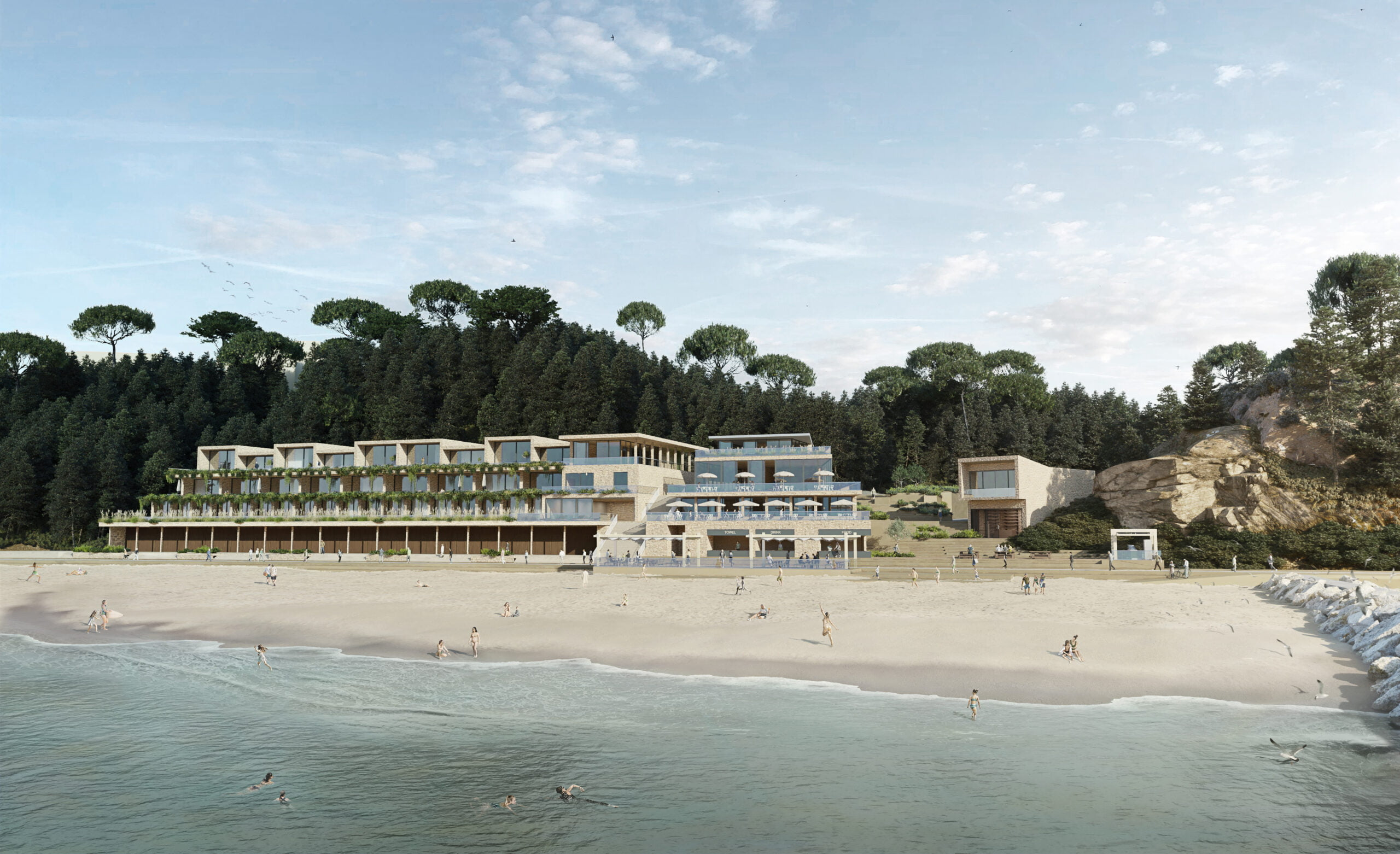 Eco-luxury Hotel & Spa - The Plover - Seafront Development